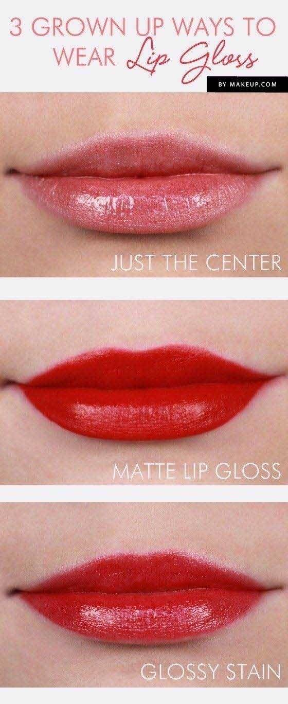 new lip gloss