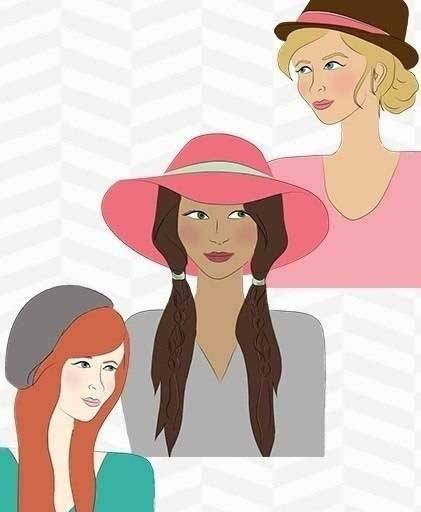Favorite Hairstyles for Our Favorite Hats | Hat Hair