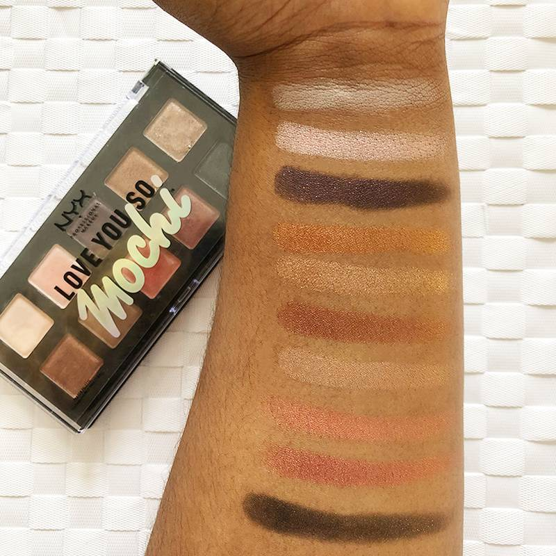 Swatch Off! Here's What We Think of the New NYX Love You So Mochi Palettes