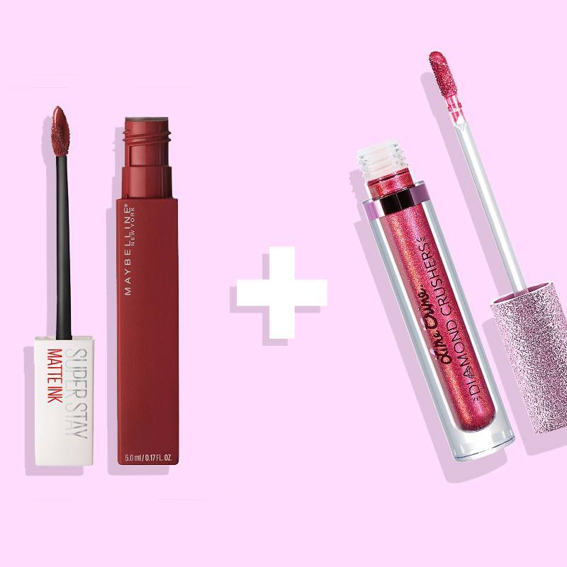 Pair These Two Lippies to Get a Dazzling, Glittery Lip