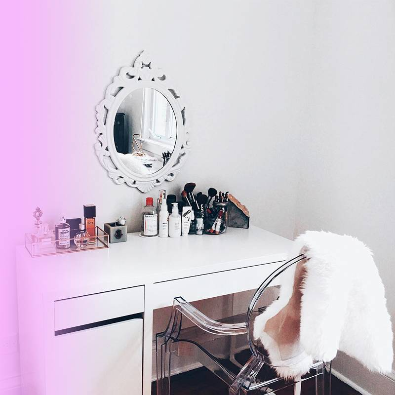 How to Build the Makeup Vanity of Your Dreams