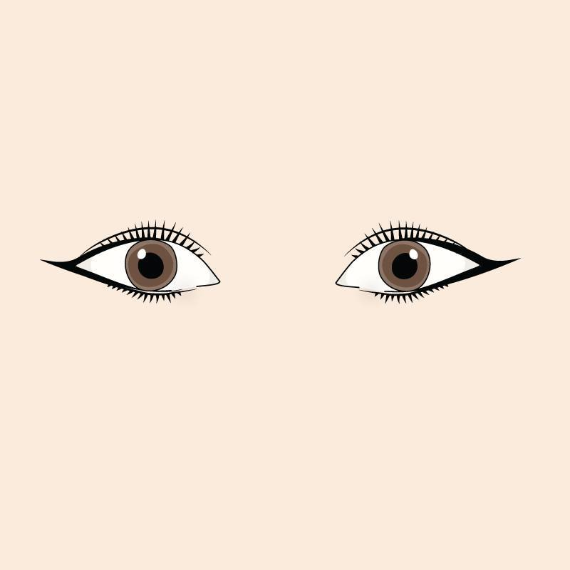 almond-eyes-cat-eye-liner