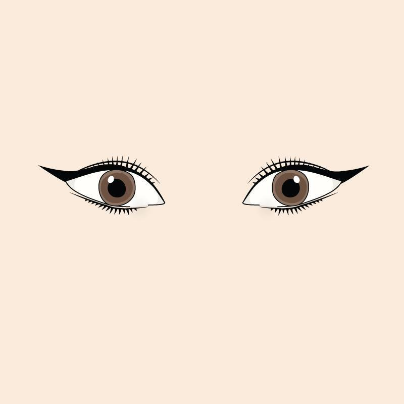 upturned-eyes-cat-eye-liner