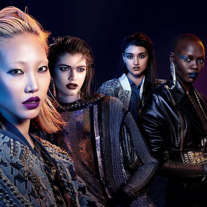 Aperçu exclusif de la collection L'Oréal Paris x Balmain