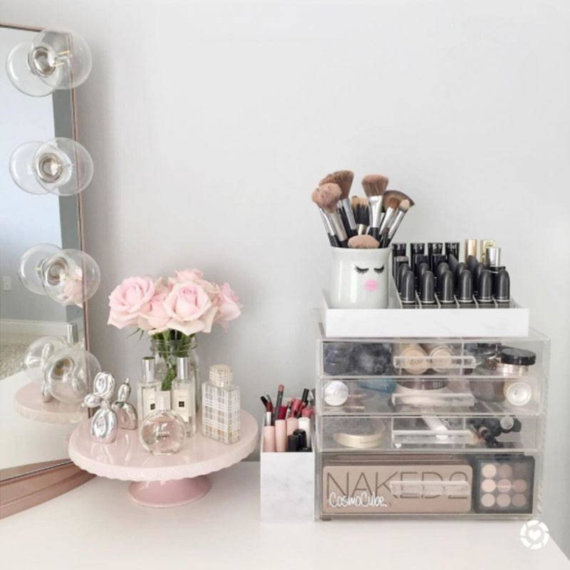 7 Trendy Acrylic Makeup Organizers for Under $10