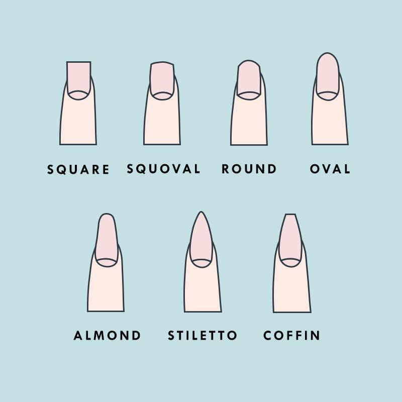 Switch Up Your Mani With One of These 7 Nail Shapes