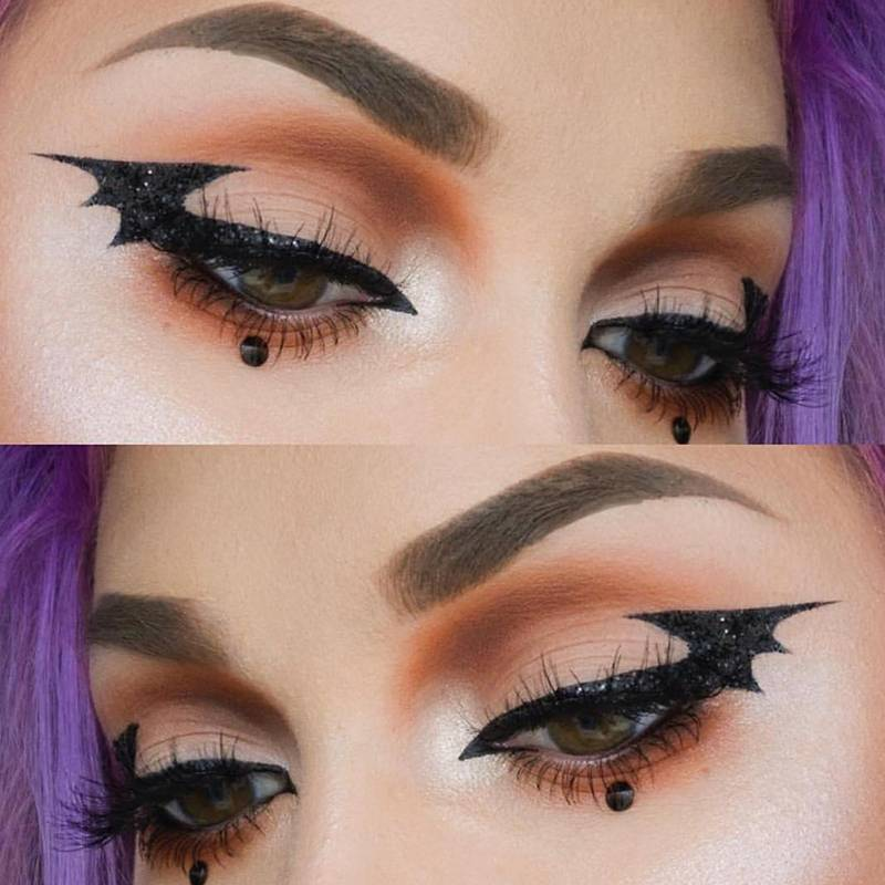 Bat Eyeliner is the Answer to Your Last-Minute Halloween Makeup Prayers