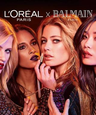 United We Are Invincible: The New L'Oreal x Balmain Collection