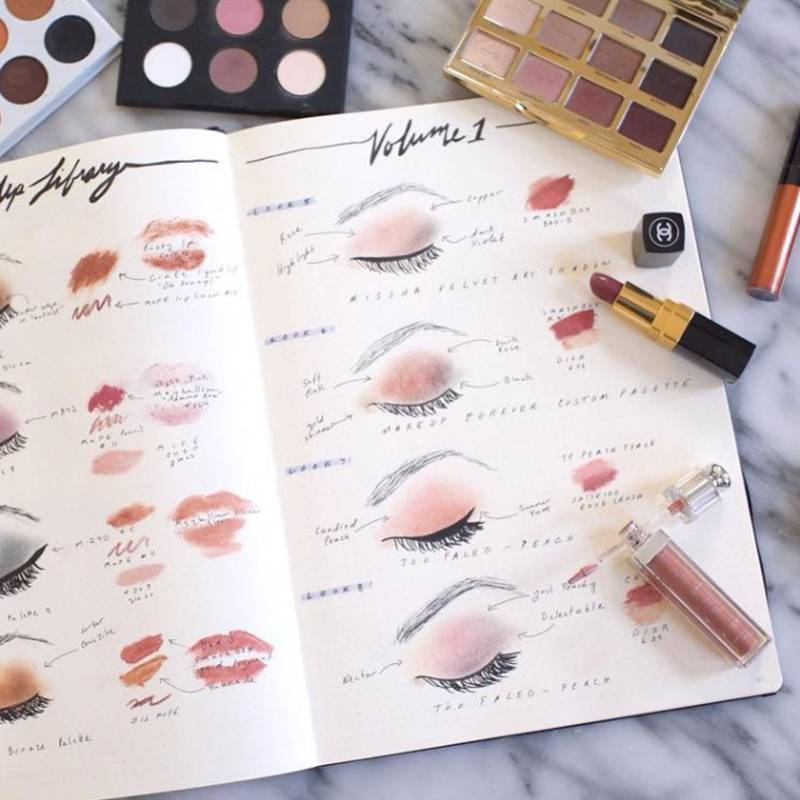 Why You Should Be Bullet Journaling Your Makeup
