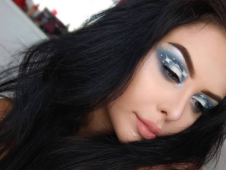 Cloud Eye Makeup Is Taking Over Our Insta Feeds and We're Not Mad About It