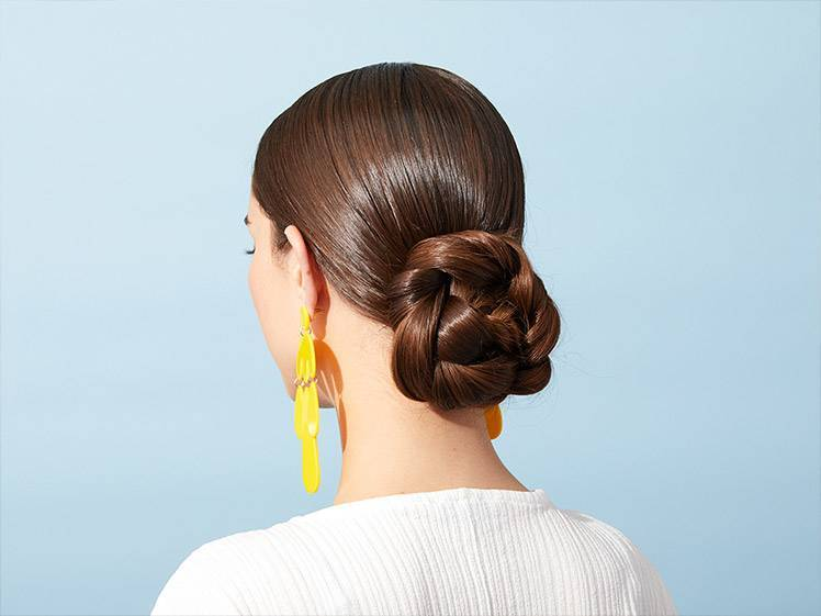 How to Get the Perfect Low Bun in 4 Easy Steps | Makeup.com