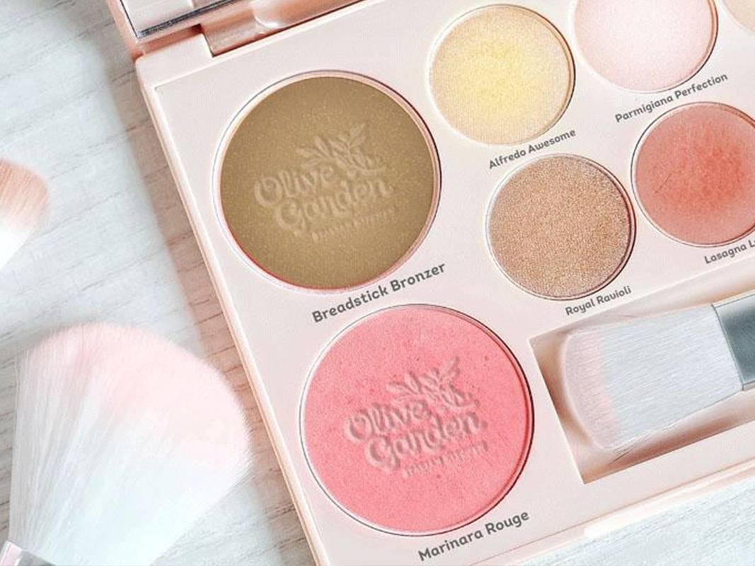 The Internet is Freaking Out Over This Olive Garden Makeup Palette — Us Included
