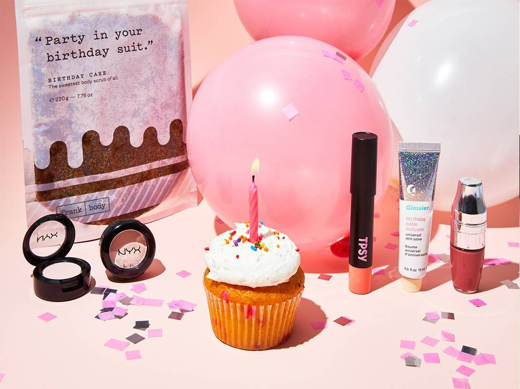 6 Birthday-Themed Beauty Gifts That Are Guaranteed to Make You Smile