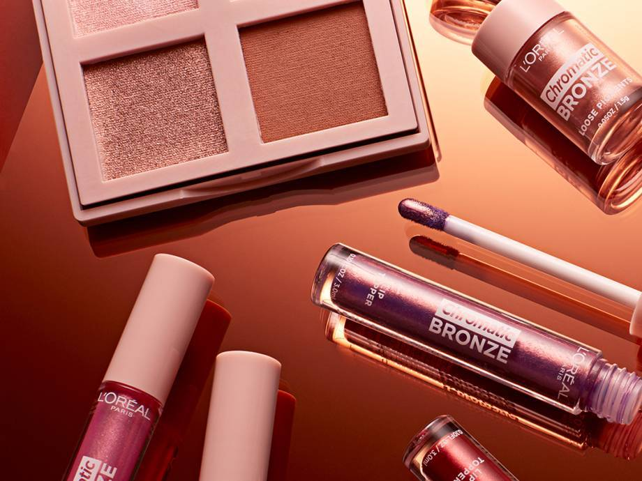 Get Glowing with the L'Oréal Paris Chromatic Bronze Collection