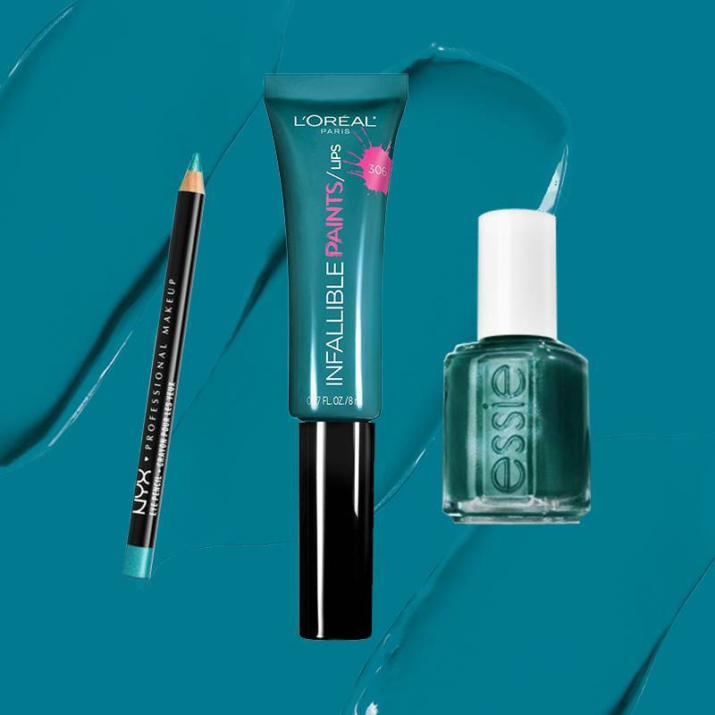 5 Teal Makeup Products You Need to Get Your Hands On for Spring