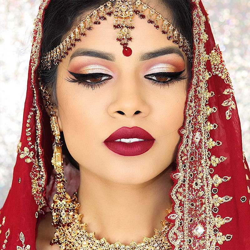 5 Indian Bridal Makeup Tutorials We Can't Stop Watching