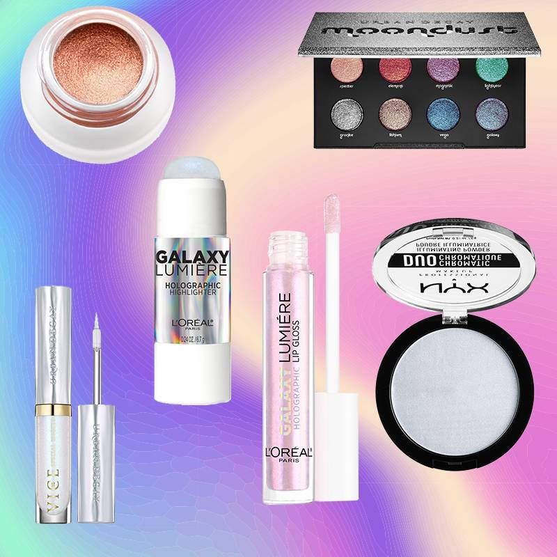 6 Holographic Makeup Products for the Iridescent Glow of Your Dreams