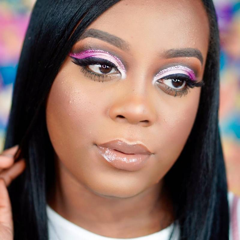 Obsessed With Bright Colors for Spring? Watch This Cut-Crease Video by the M Crowd