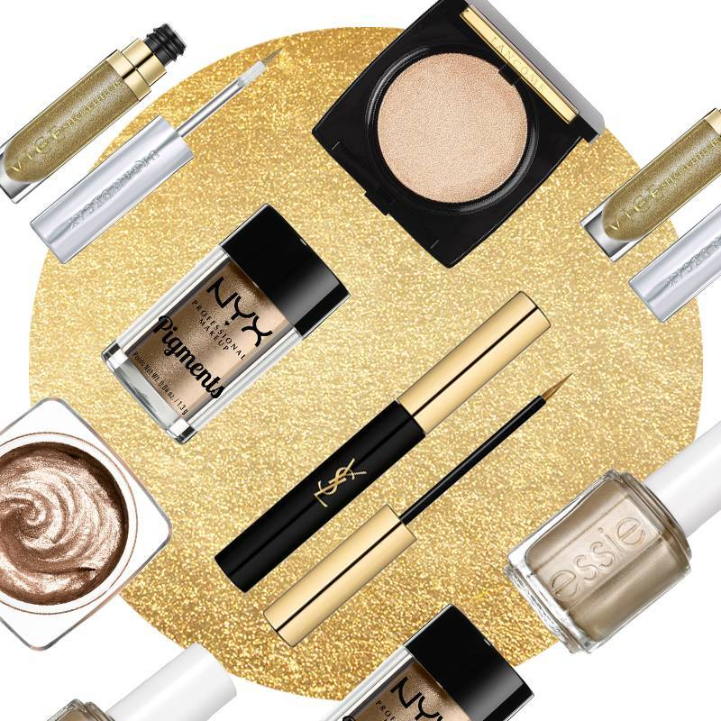 6 Gold Makeup Products That Would Make Even Midas Jealous