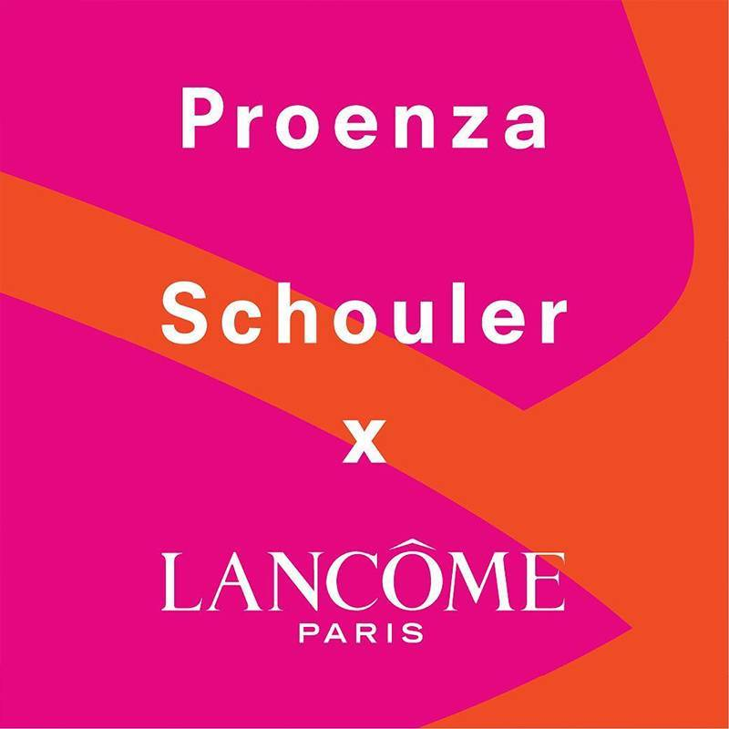 This Just In: Lancôme is Joining Forces With Proenza Schouler for a Limited Edition Collection