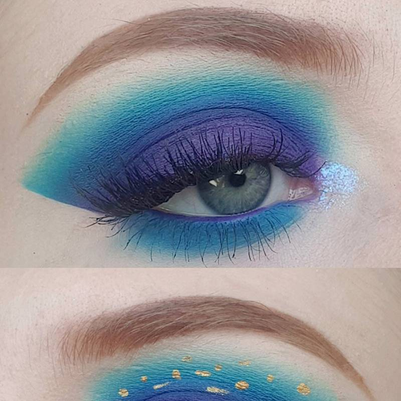 Starry Eye Inspired Makeup Look How To