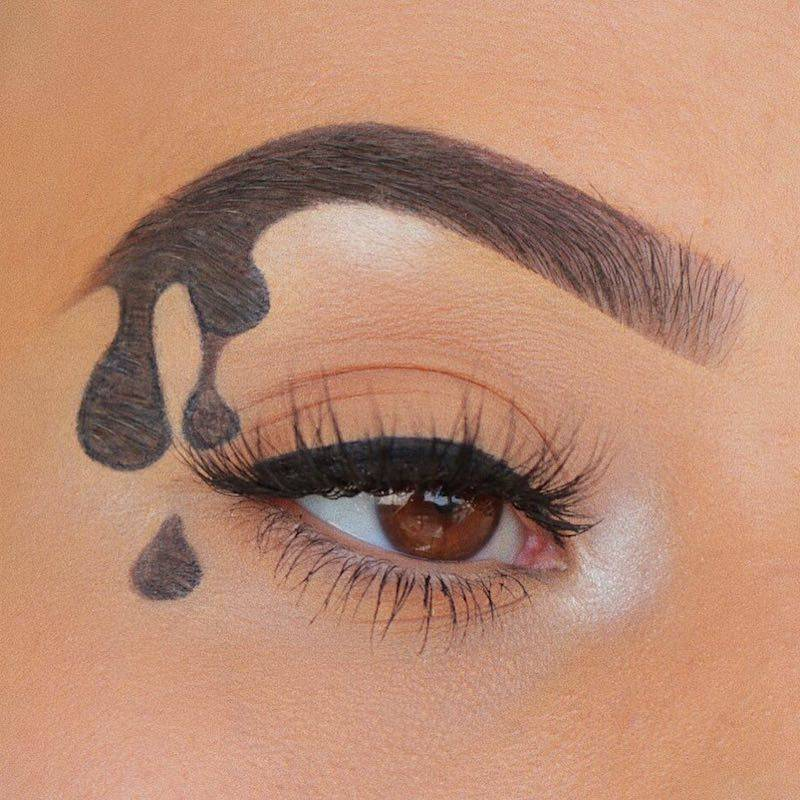 Dripping Eyebrows Exist and We Know You'll Have Feelings