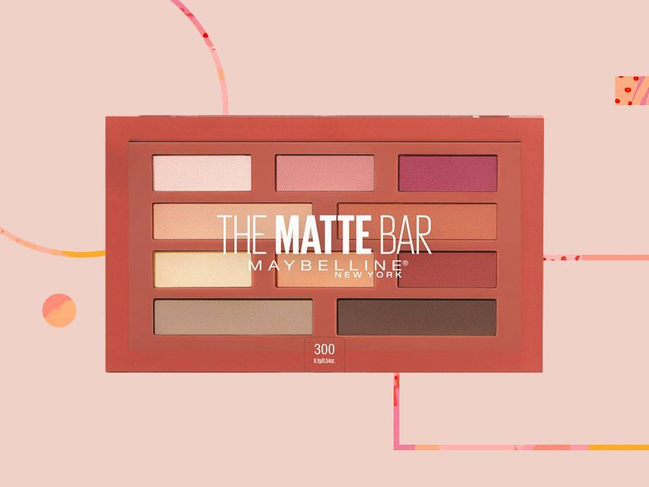 Everything You Need to Know About the New Maybelline Matte Bar Eyeshadow Palette