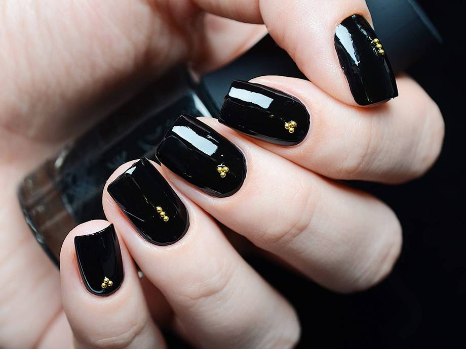 6 Black Nail Polishes That Will Feed Your Dark Soul This Season