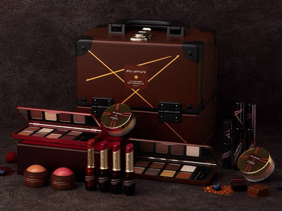 Chocolate Lovers, the Shu Uemura Holiday Collection is Just for You (And There's a Giveaway!)