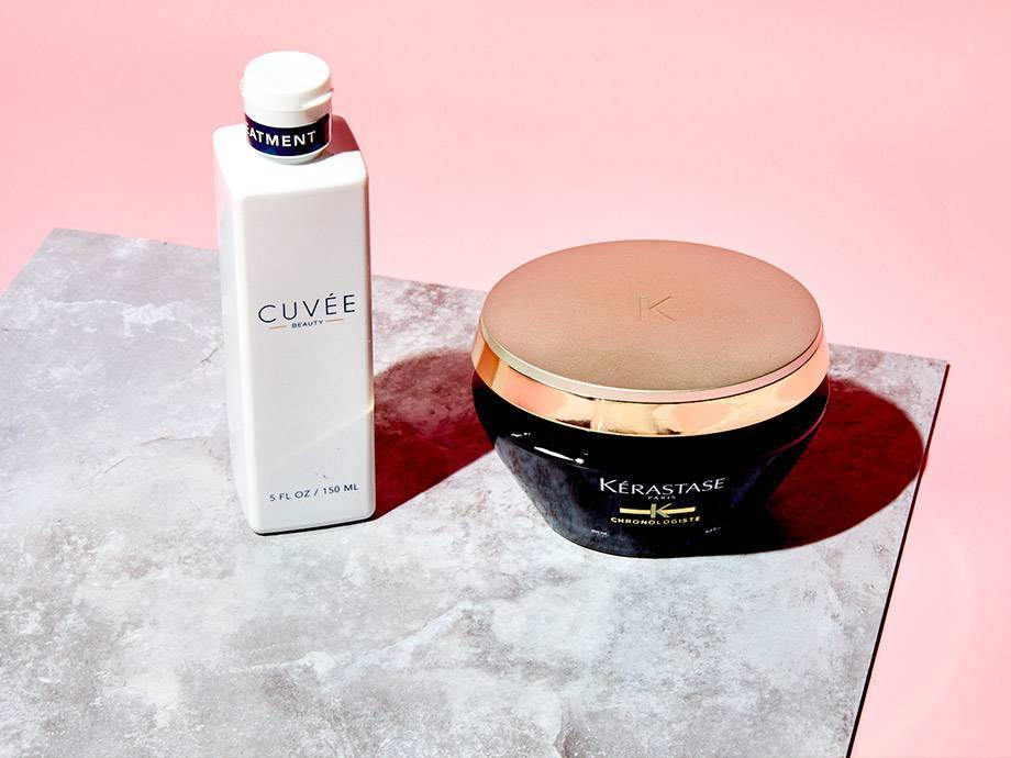 Better Together: This Champagne Hair Treatment and Hair Mask Will Give You the Hair of Your Dreams