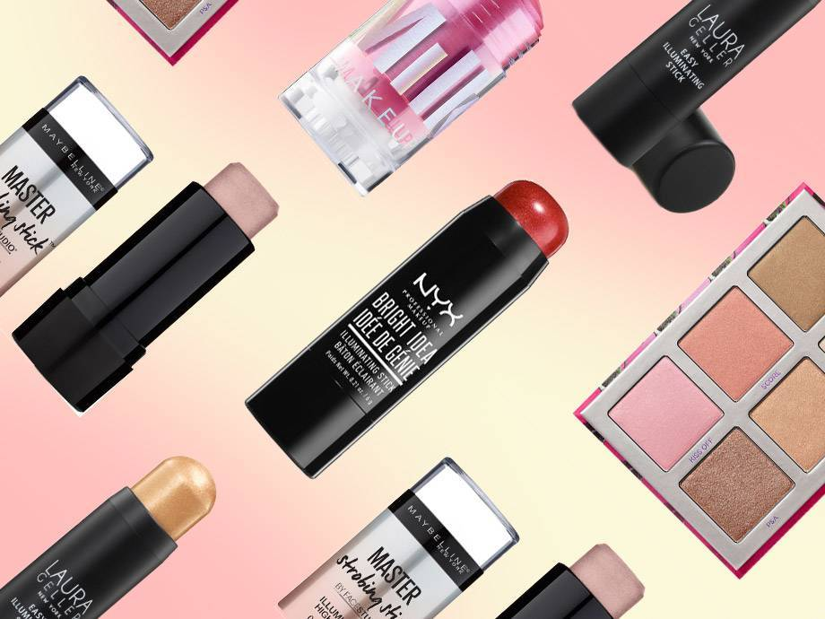 5 Highlighters We Love That Double as Glistening Lipsticks