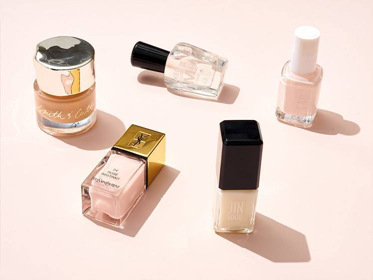 5 Cool So-Sheer-They're-Almost-Clear Nail Polishes