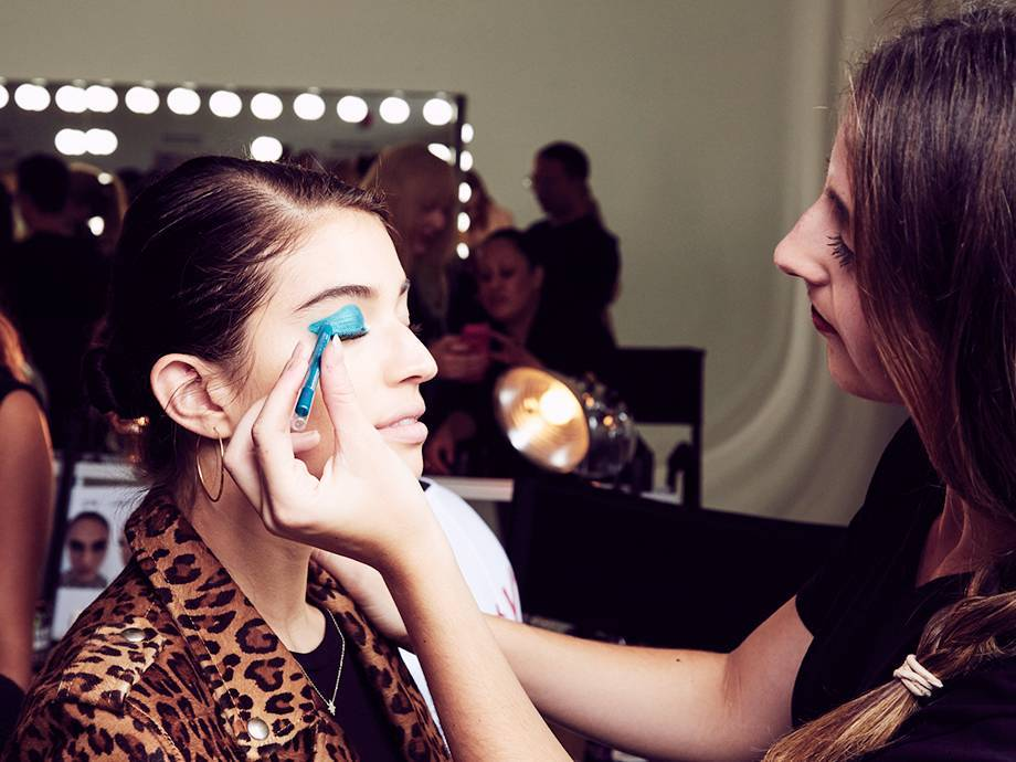 I Did Makeup Backstage at NYFW — Here's What Happened