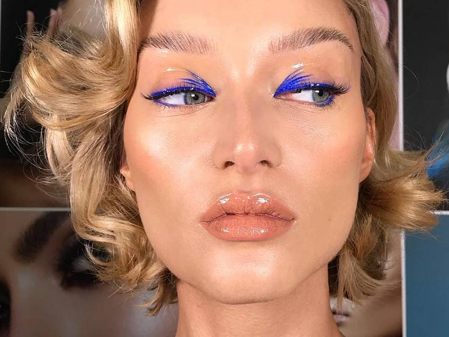 How to Create This Feathered Liner Look With Just One NYX Product