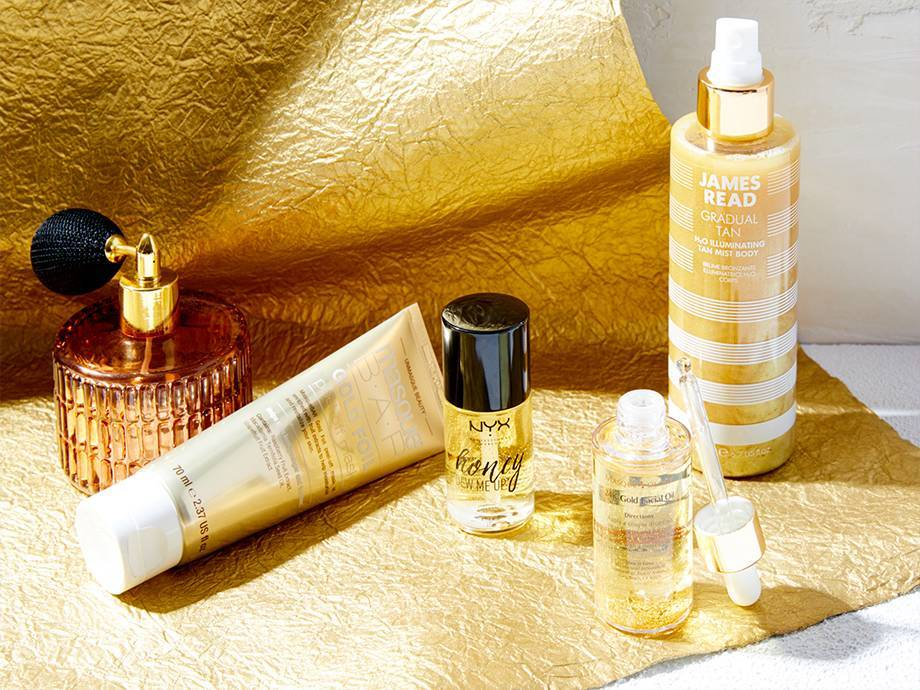 5 Beauty Products Infused With Gold That Have Us Feeling Like Midas