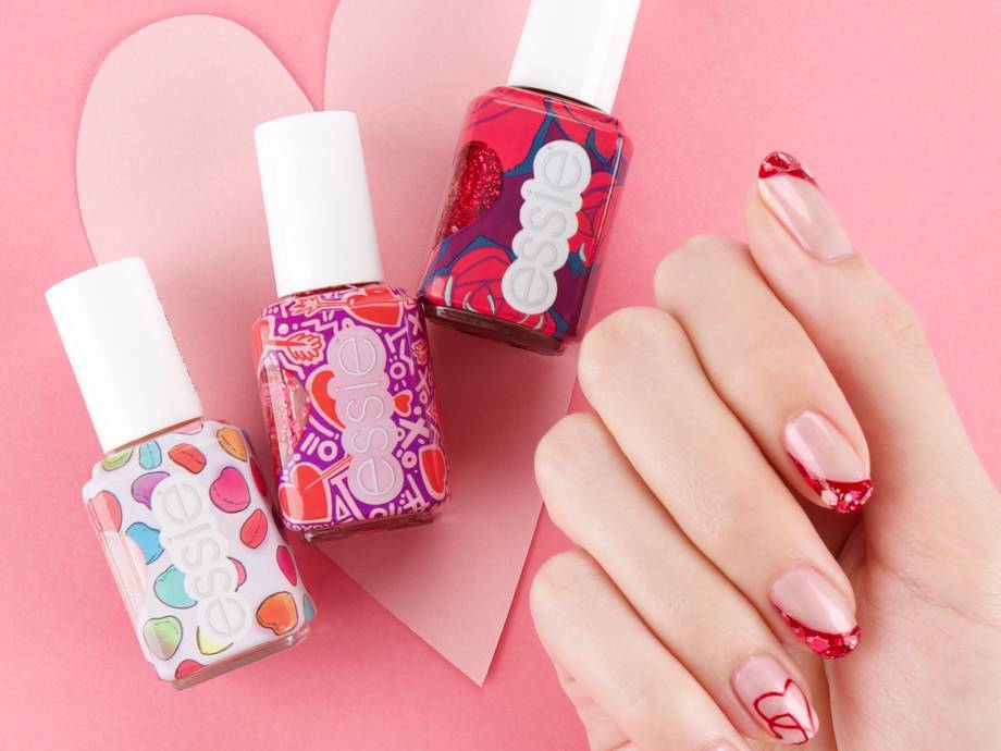 Essie Just Dropped a Valentine's Day Nail Polish Collection — See All Six Shades, Here