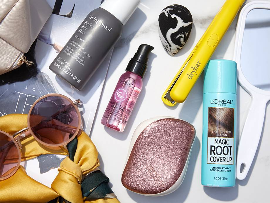 9 Travel-Size Hair Products to Pack in Your Carry-On