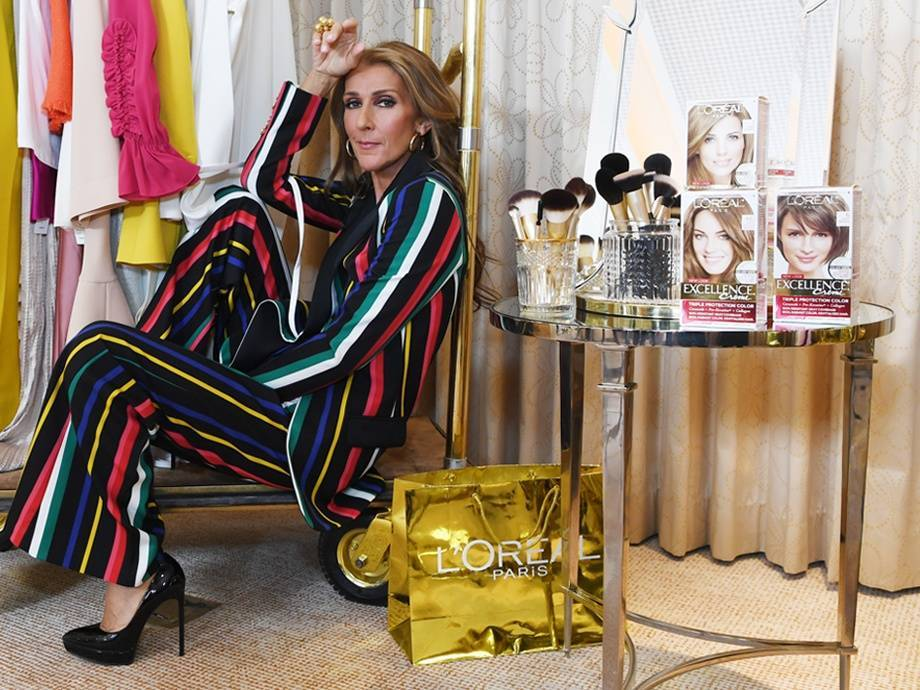 Celine Dion is the New Face of L'Oréal Paris — and That's the Way It Is