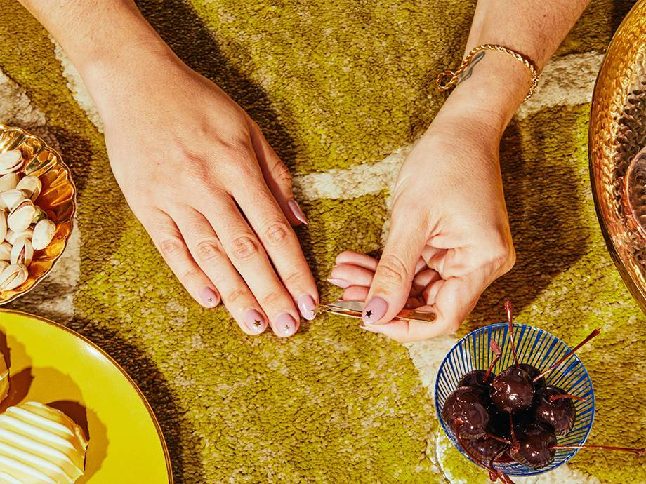 How to Make Nail Stickers Look Luxe