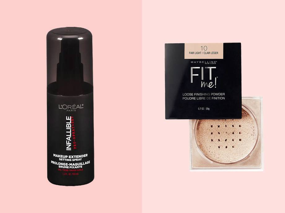 What's the Difference Between Setting Powder and Setting Spray?
