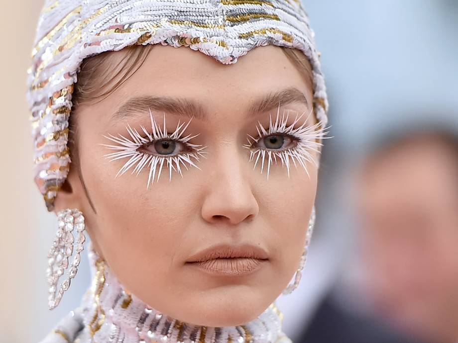 Gigi Hadid Wore the Most Perfect $8 Nude Lipstick to the Met Gala