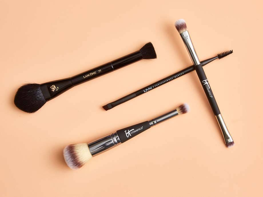 5 Dual-Ended Makeup Brushes for a Speedy Beauty Routine