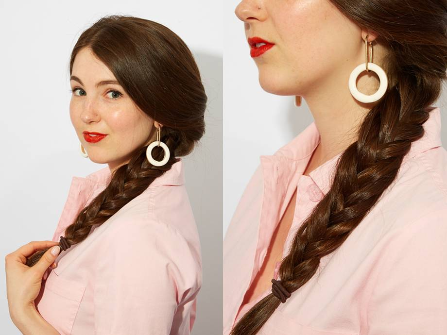 How to Do a Fishtail Braid (With Pictures!)