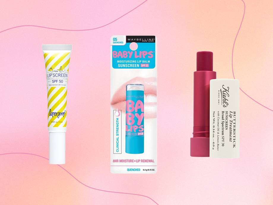 6 Lip Balms With SPF for Perfect-for-Summer Lips
