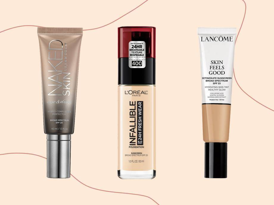7 Best Foundations With SPF — There's One for Every Skin Type