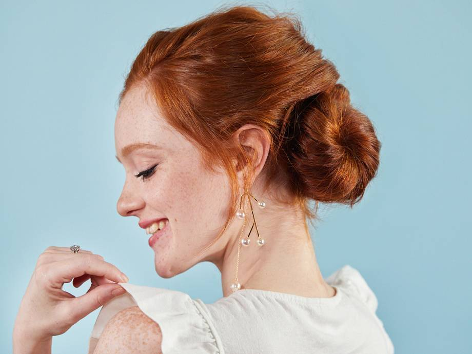 A Wedding Hairstyle You Can Totally DIY
