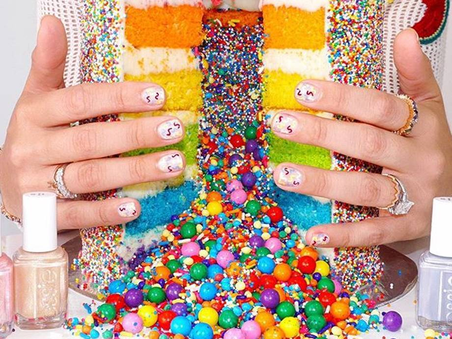 Nail Art Tutorial: A Festive Summer Manicure Courtesy of Miss Pop Nails and Amirah Kassem