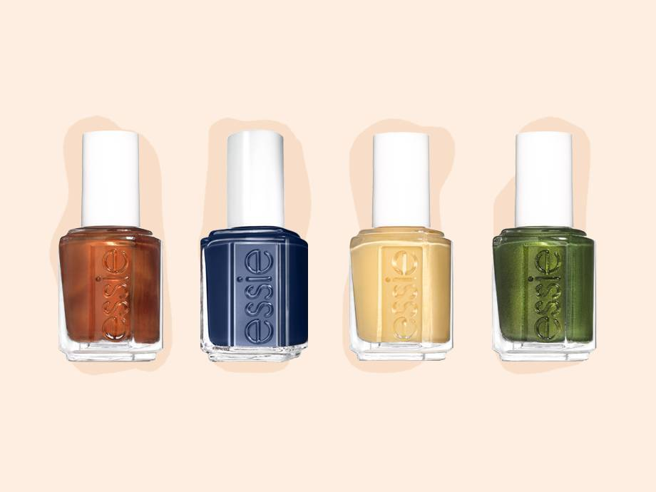 5 Nail Polish Combinations to Try This Fall Using Essie's New Collection