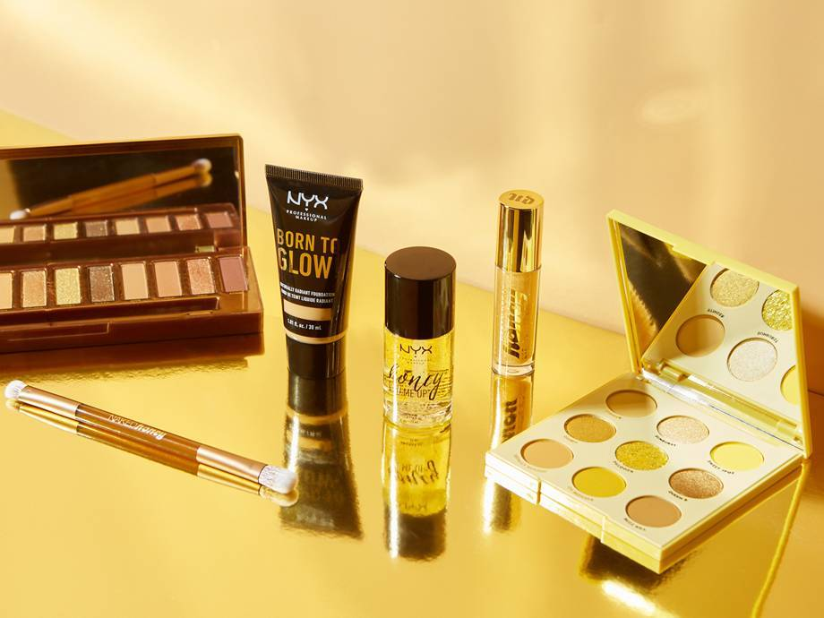 5 Golden Honey Makeup Products We Can't Stop Buzzing About
