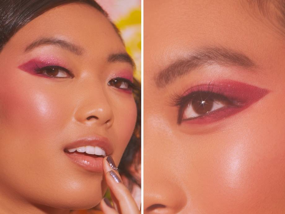 This Pink Ombré Eyeshadow Wing Is So Good You'll Never Reach for a Black Eyeliner Again